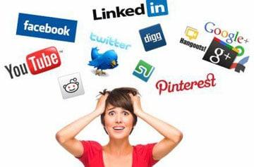 Hur mycket tid lägger du på sociala medier?